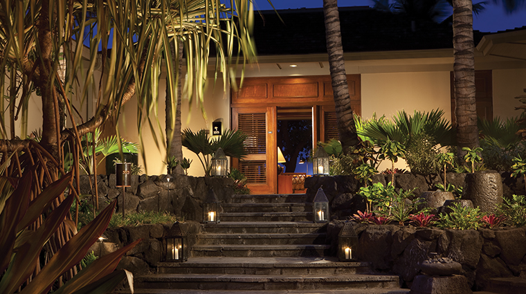 four seasons resort hualalai steps