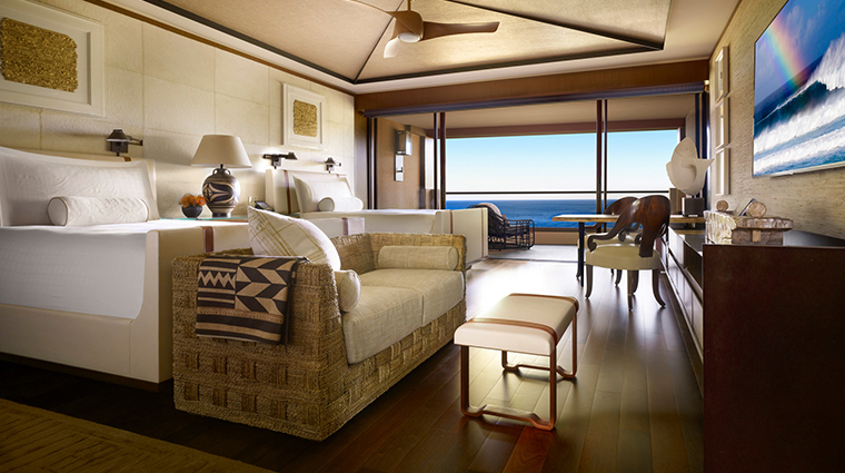 four seasons resort lanai oceanfront double room