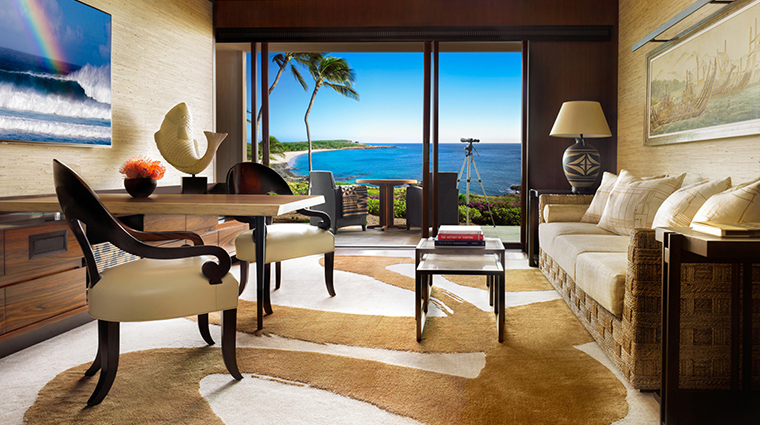 four seasons resort lanai prime ocean front studio suite