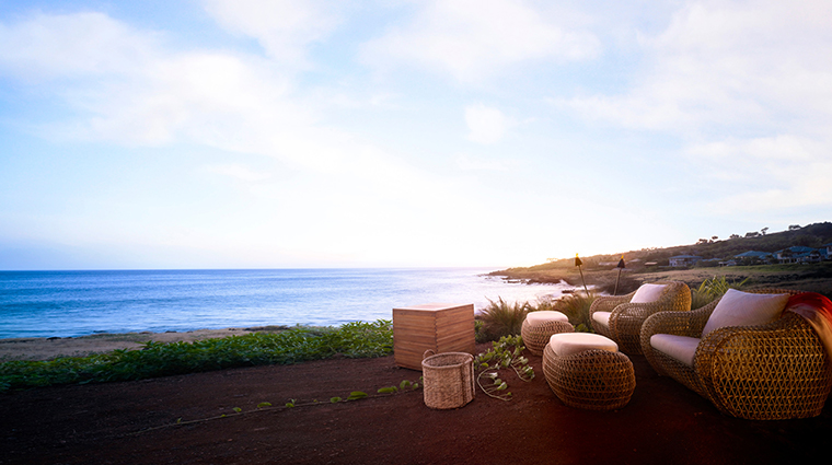 four seasons resort lanai seating area with view