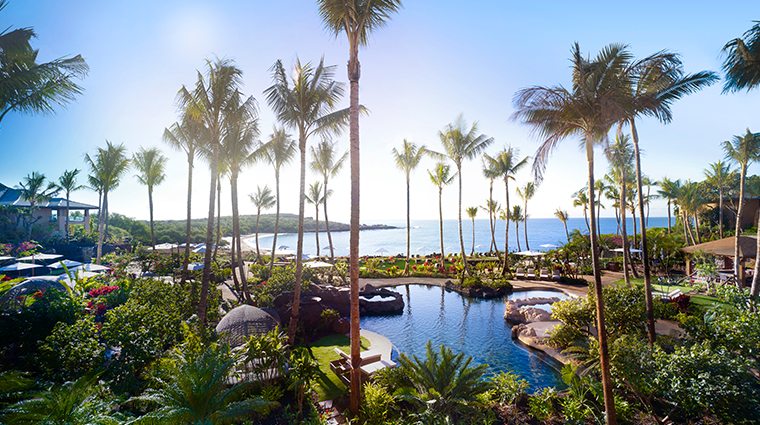 four seasons resort lanai view of pool