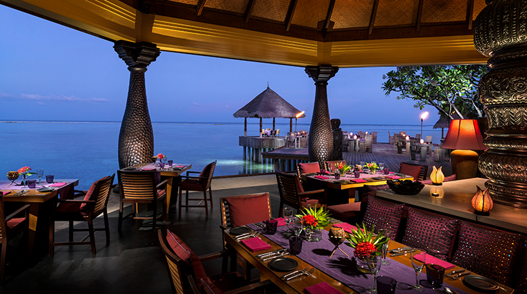 four seasons resort maldives at kuda huraa Baraabaru Signature Restaurant
