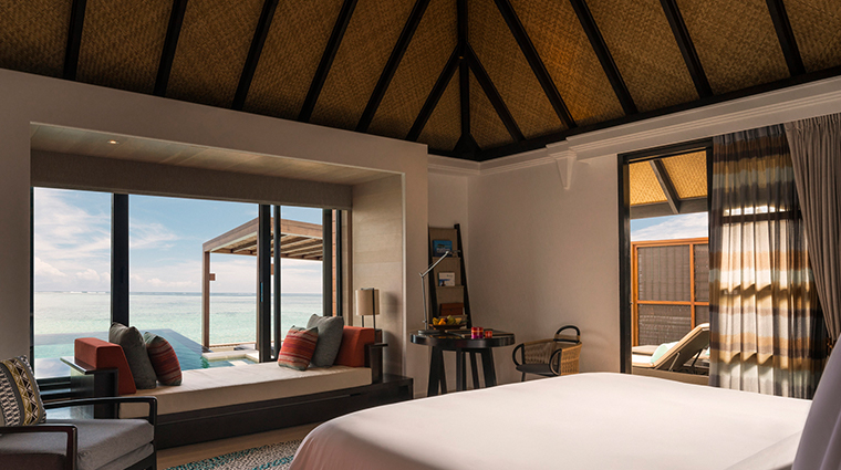four seasons resort maldives at kuda huraa guestroom view