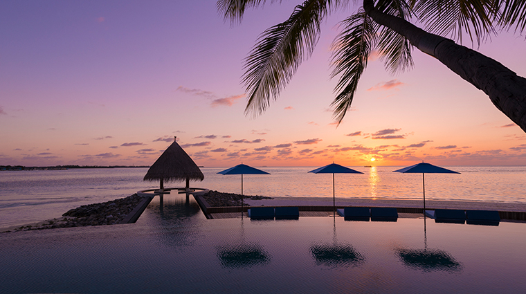 four seasons resort maldives at kuda huraa serenity pool