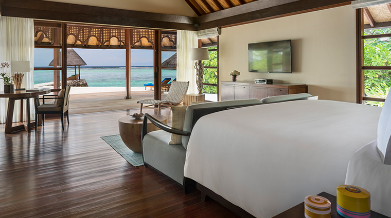 four seasons resort maldives at kuda huraa two bedroom royal beach villa