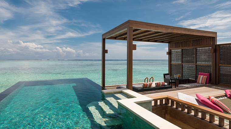 four seasons resort maldives at kuda huraa water villa pool