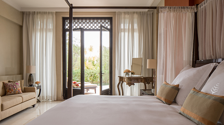 four seasons resort marrakech guestroom terrace view
