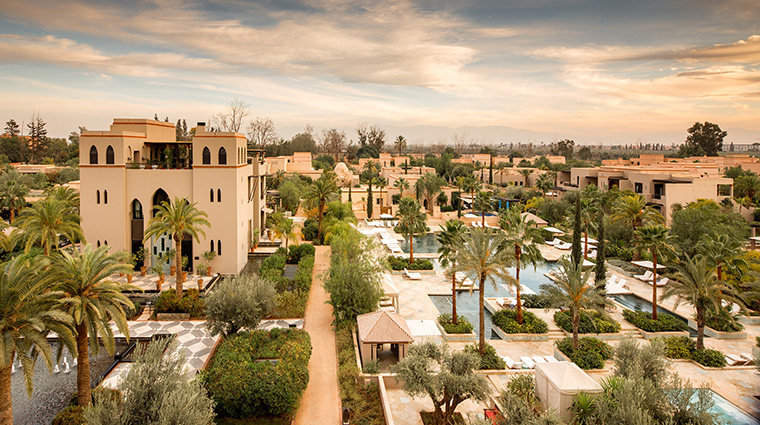 four seasons resort marrakech presidential suite terrace view