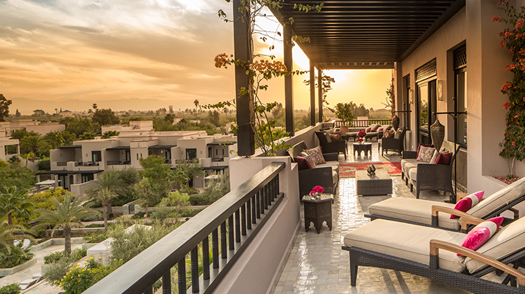 four seasons resort marrakech presidential suite terrace