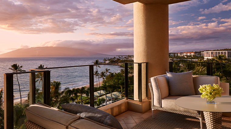 four seasons resort maui at wailea balcony