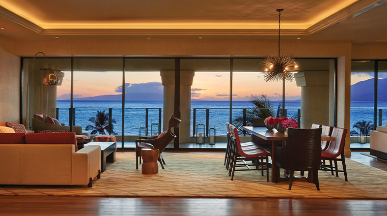 four seasons resort maui at wailea living room
