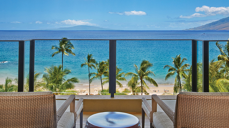 four seasons resort maui at wailea suite balcony
