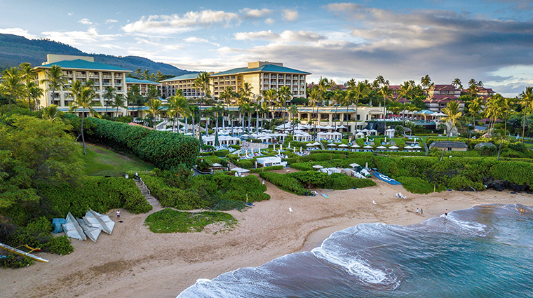 four seasons resort maui at wailea view from water
