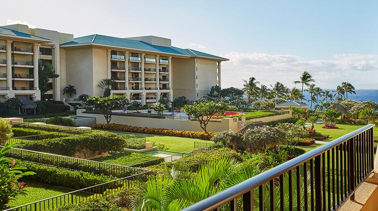 four seasons resort maui at wailea view of hotel