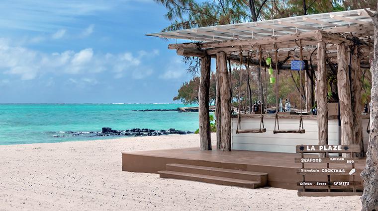 four seasons resort mauritius at anahita beach grill exterior