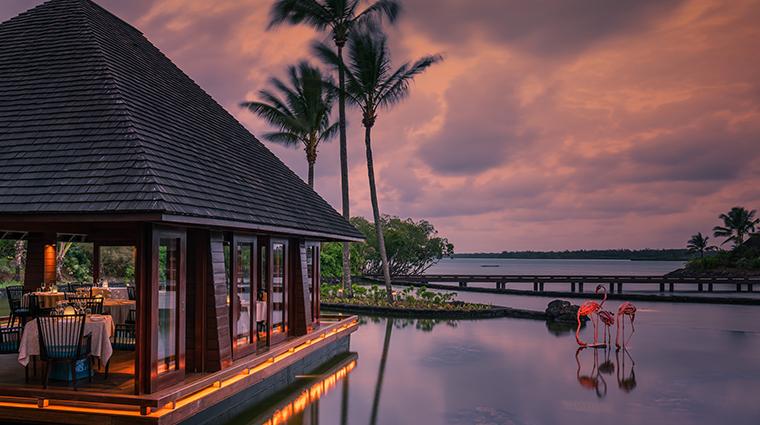 four seasons resort mauritius at anahita beau champ restaurant pavillion