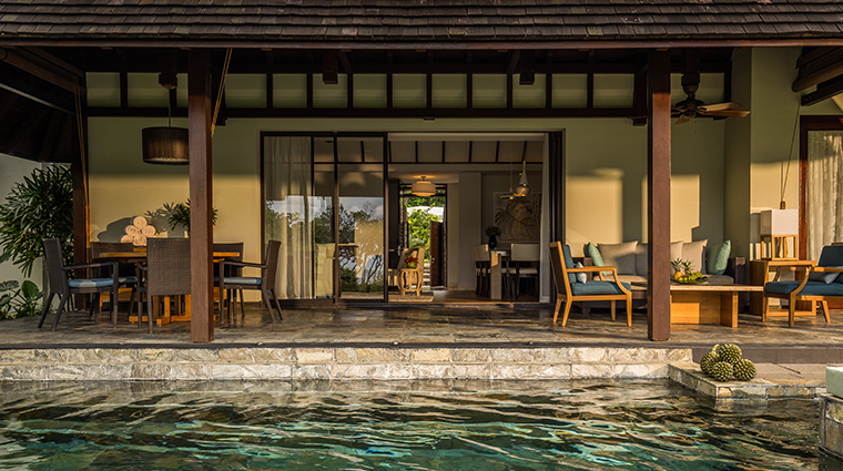 four seasons resort mauritius at anahita garden residence pool and terrace
