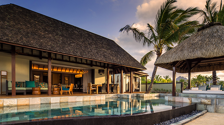 four seasons resort mauritius at anahita presidential suite pool and terrace
