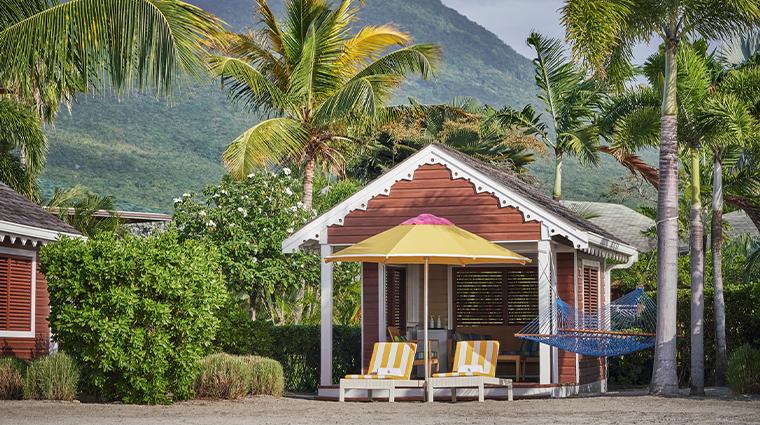 four seasons resort nevis beach cabana