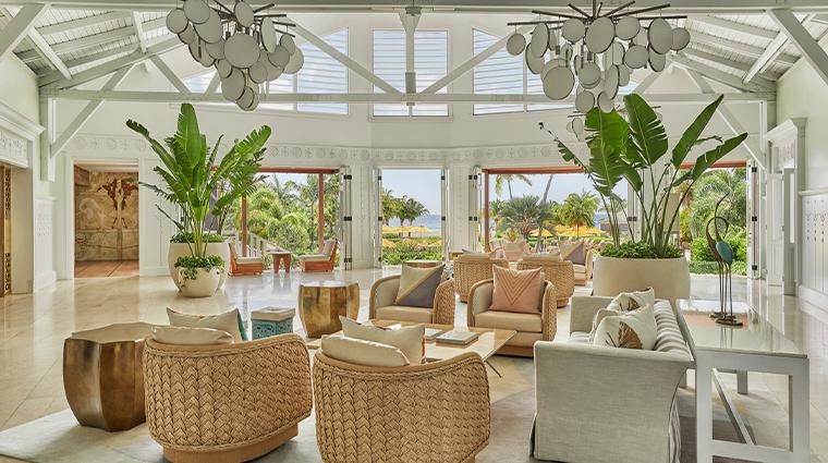 four seasons resort nevis lobby