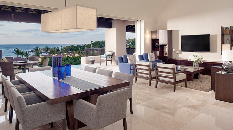 four seasons resort punta mita mexico living room open