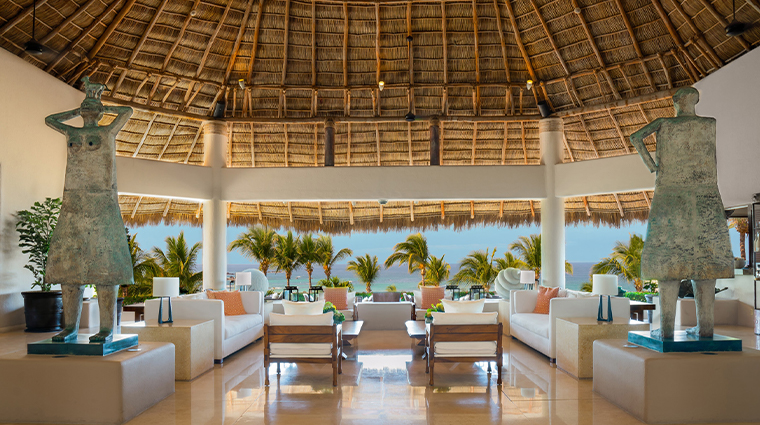 four seasons resort punta mita mexico lobby view