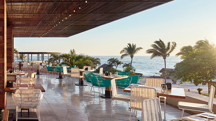 four seasons resort punta mita mexico outdoor dining view