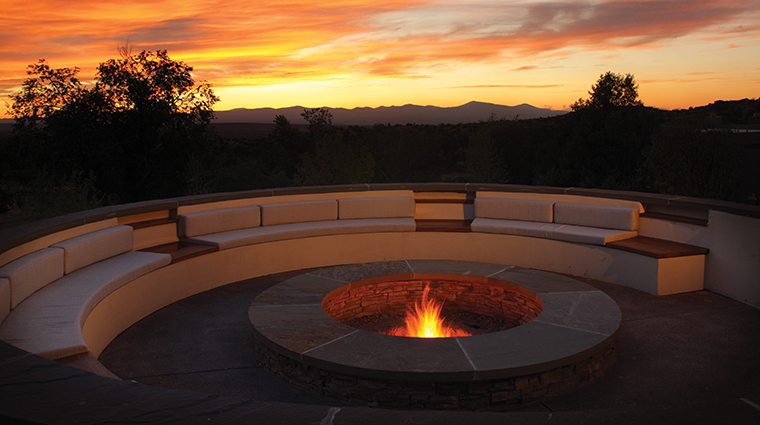 four seasons resort rancho encantado santa fe firepit