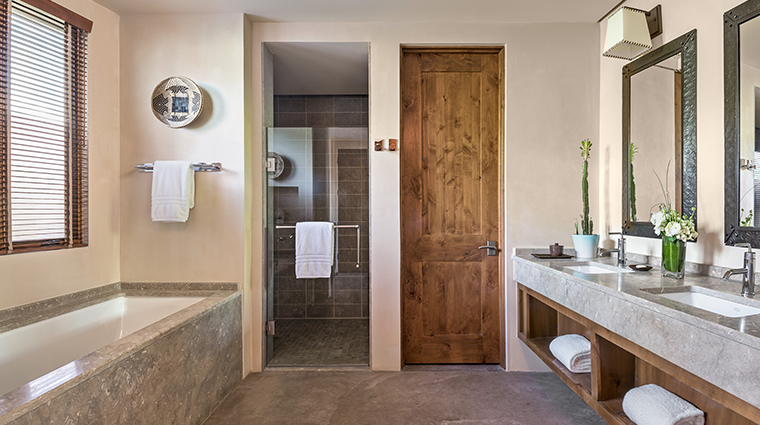 four seasons resort rancho encantado santa fe guest bathroom 2