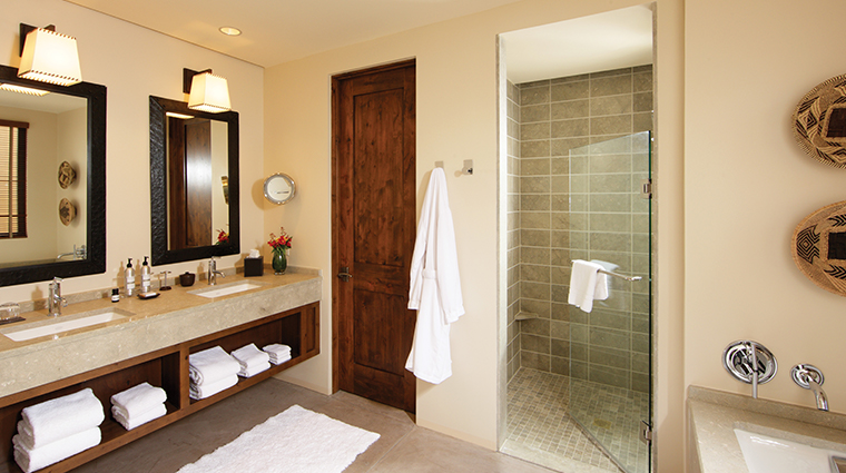 four seasons resort rancho encantado santa fe guest bathroom