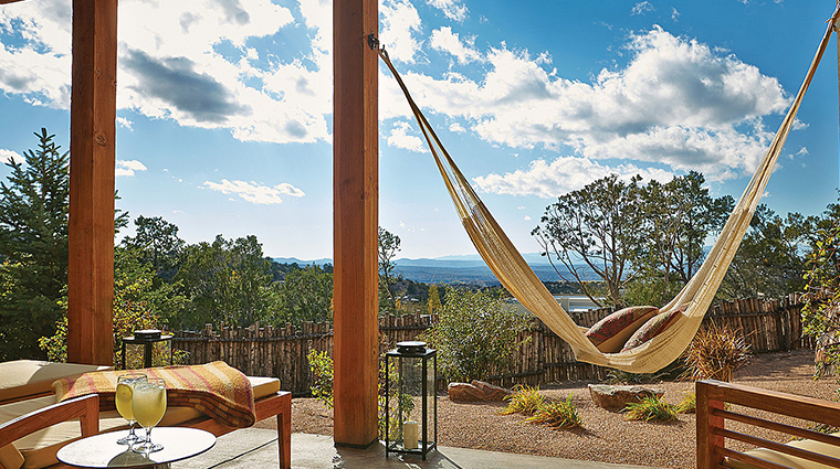 four seasons resort rancho encantado santa fe suite patio hammock