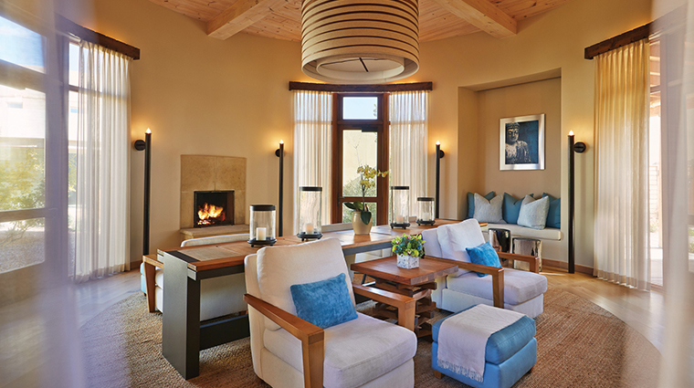 four seasons resort rancho encantado santa fe warming room