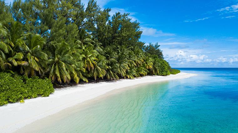 four seasons resort seychelles at desroches island beach