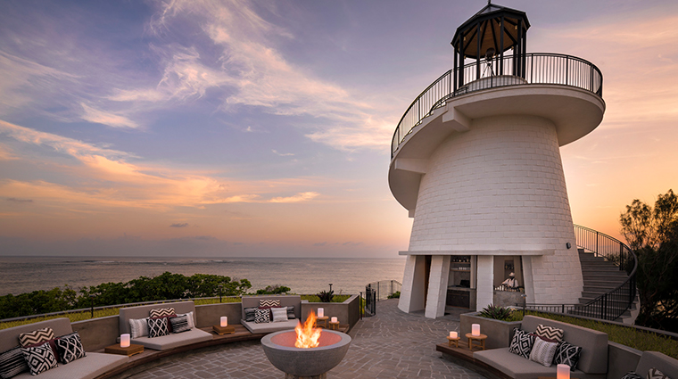 four seasons resort seychelles at desroches island lighthouse restaurant