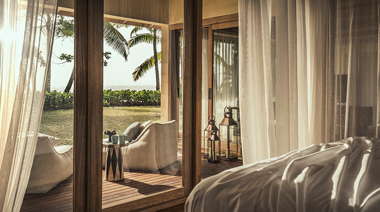four seasons resort seychelles at desroches island one bedroom suite view