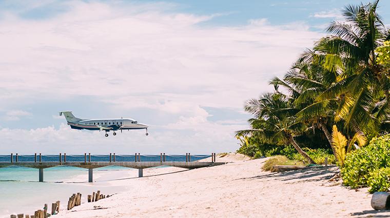four seasons resort seychelles at desroches island plane