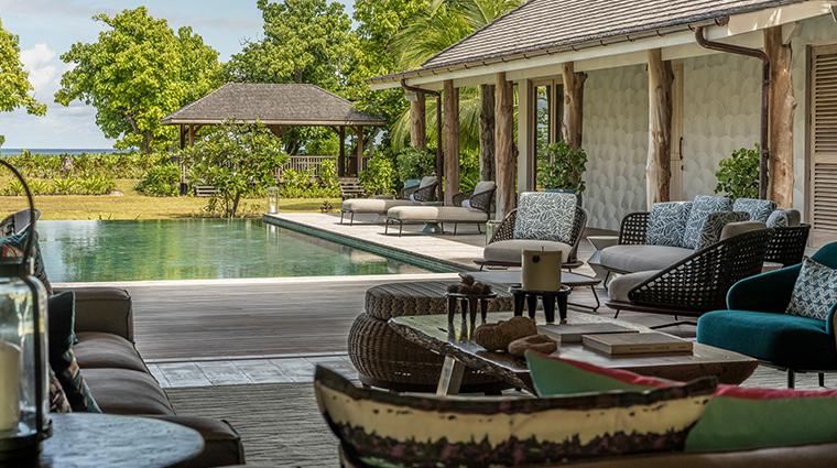 four seasons resort seychelles at desroches island presidential villa pool