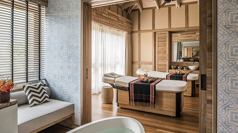 four seasons resort seychelles at desroches island spa suite