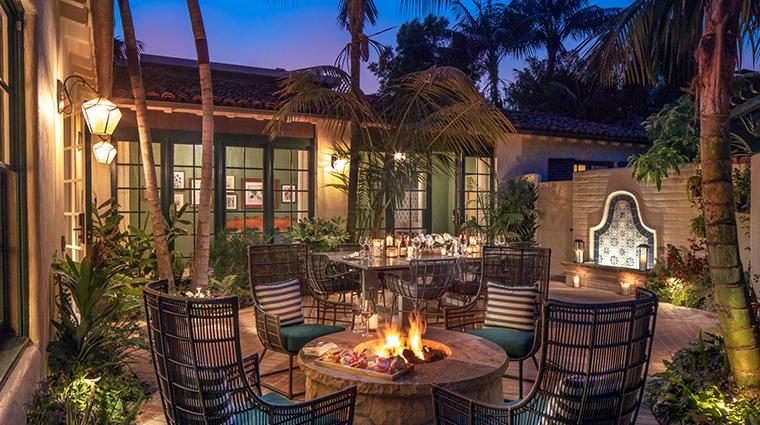 four seasons resort the biltmore santa barbara outdoor dining