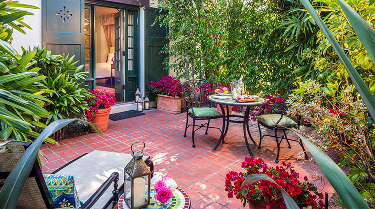 four seasons resort the biltmore santa barbara outdoor terrace