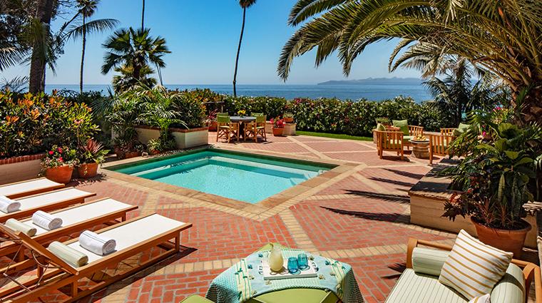 four seasons resort the biltmore santa barbara pool and patio
