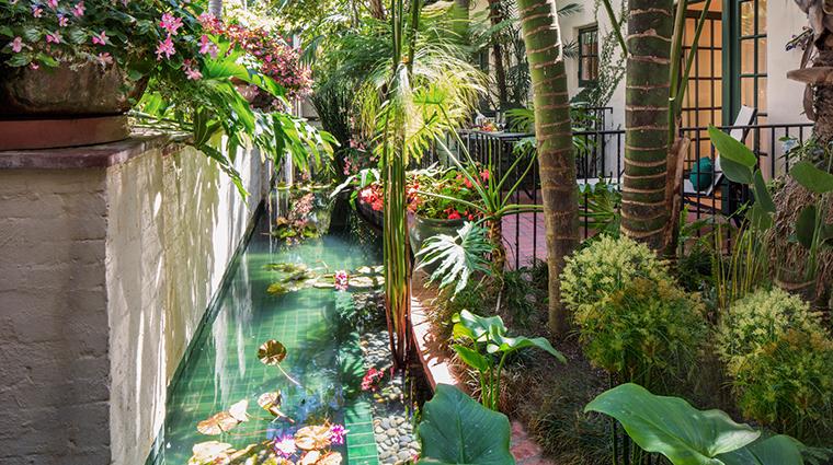 four seasons resort the biltmore santa barbara terrace pond