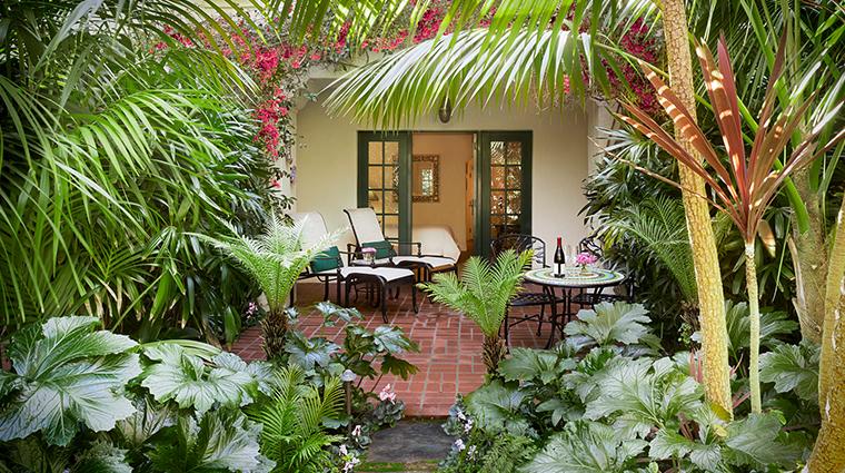 four seasons resort the biltmore santa barbara terrace table