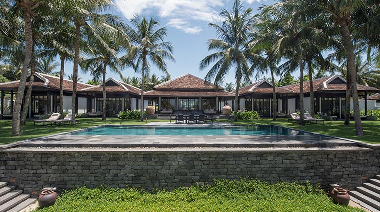 four seasons resort the nam hai hoi an pool edge