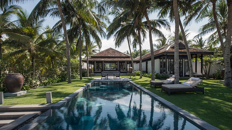four seasons resort the nam hai hoi an three bedroom hilltop pool villa