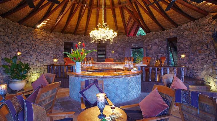 fregate island private fregate house bar