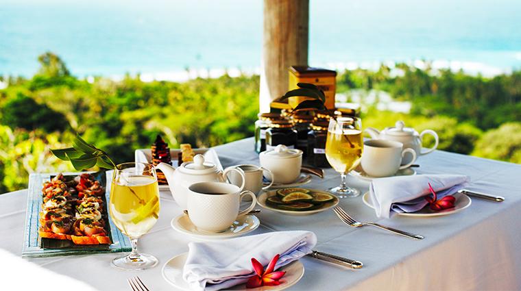 fregate island private high tea