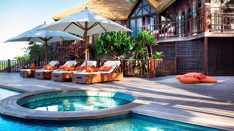 fregate island private priavte pool twin villa swimming pool