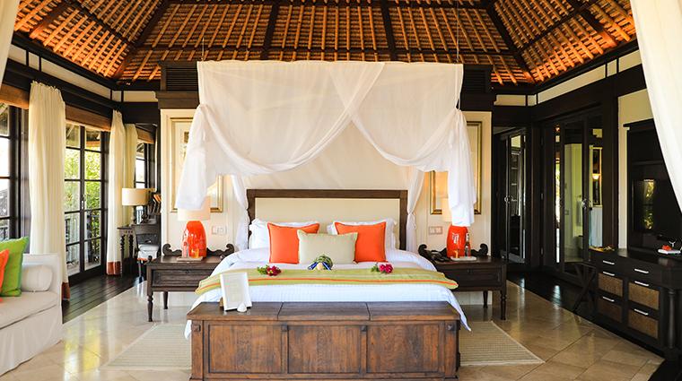 fregate island private private pool villa bedroom