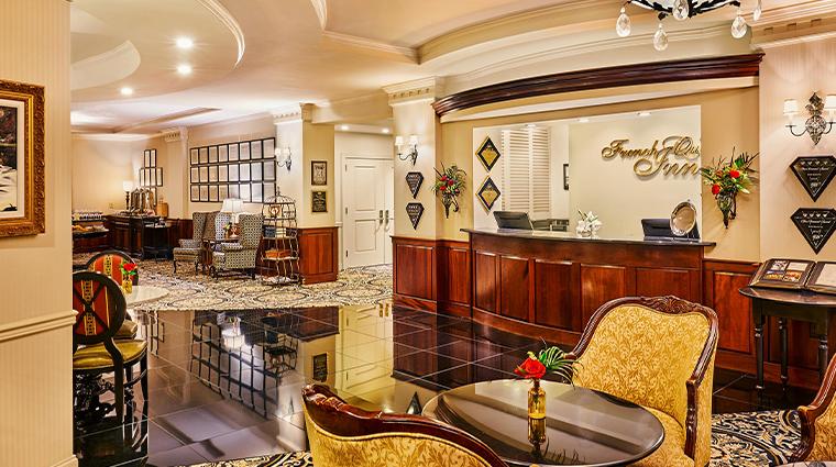 french quarter inn lobby front desk